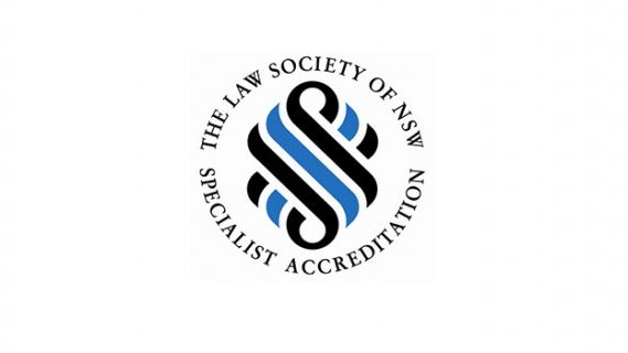 Accredited Specialist of NSW logo