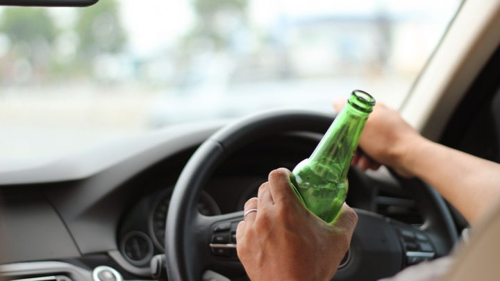 Drinking while driving
