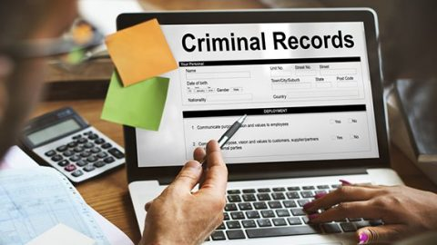 Employers criminal record search