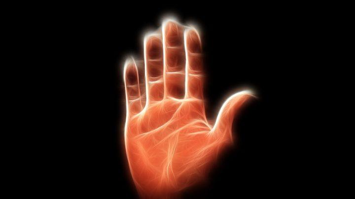 Oath by hand