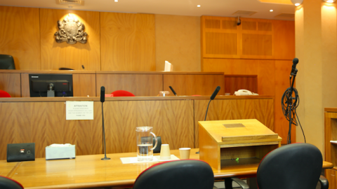 Downing Centre courtroom