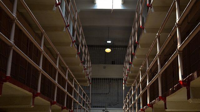 Prison cells inside