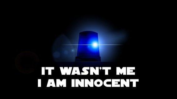 Blue police light