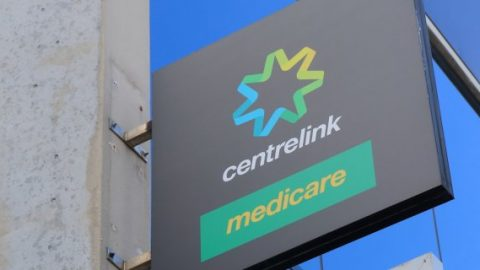 Centrelink and medicare sign