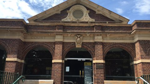 Manly courthouse