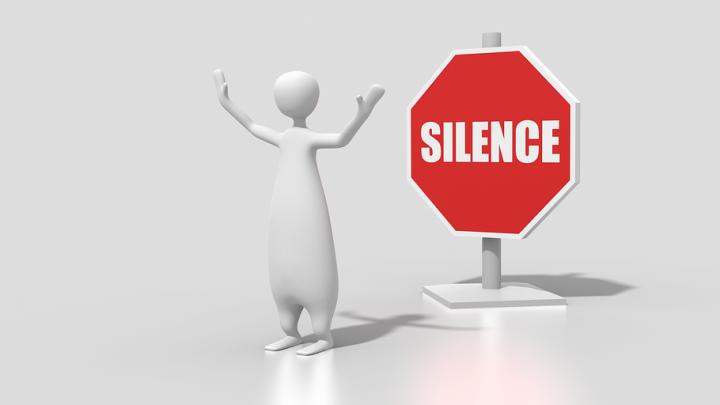 Silence figure