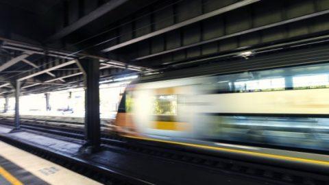 Sydney train station
