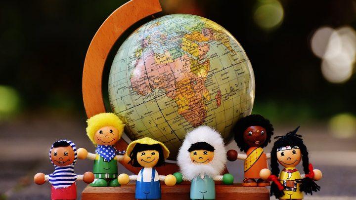 Different nationalities legos