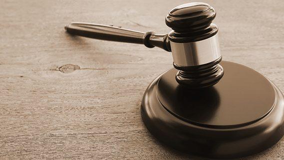 Hammer in court