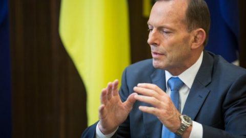 Tony Abbott from Australia