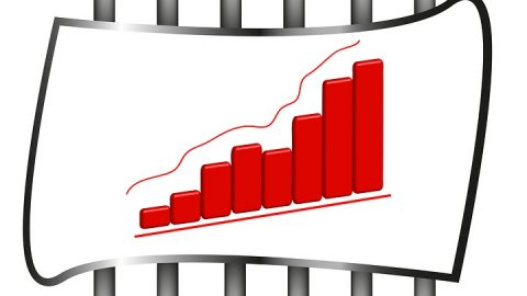 Jail increase shown on graph