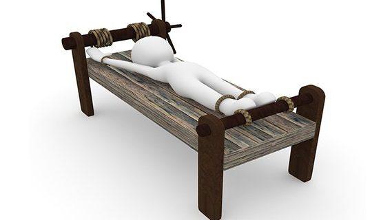 Torture stretch bed
