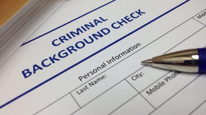Criminal background check