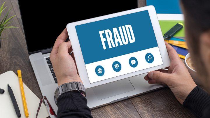 Fraud labelled on iPad