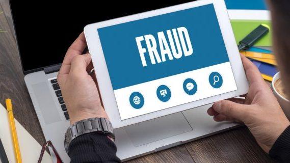 iPad fraud displayed