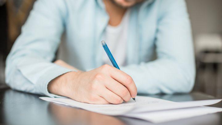 Writing resignation letter