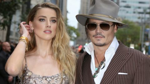 Johnny Depp and Amber Heard