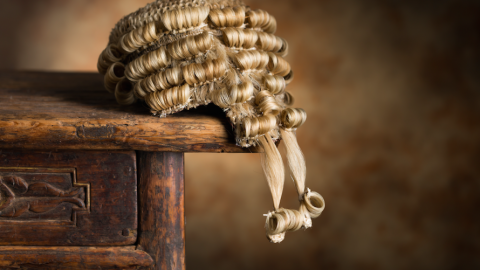 Wig courtroom