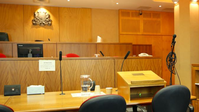DCC courtroom