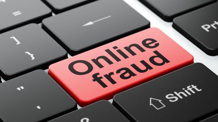 Online fraud keyboard