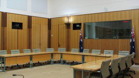 High Court of Australia room