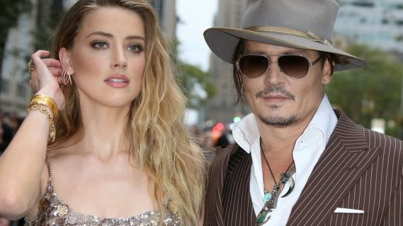 Johnny Depp ad Amber Heard