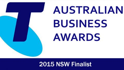 Telstra business awards finalist in 2015