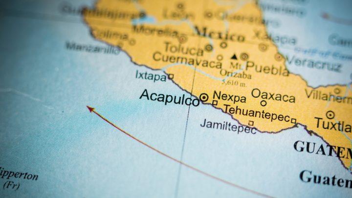Acapulco in Mexico