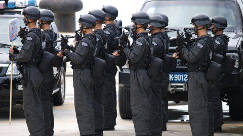 Bali police