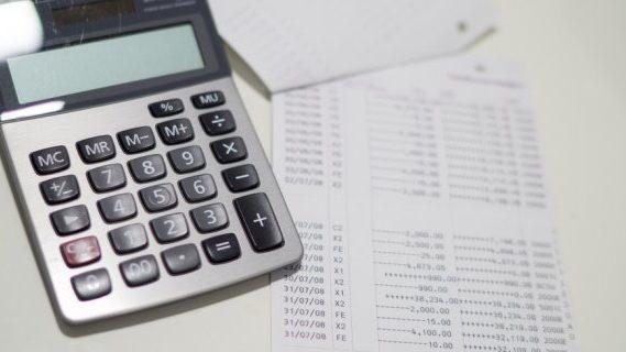 Calculator and fines