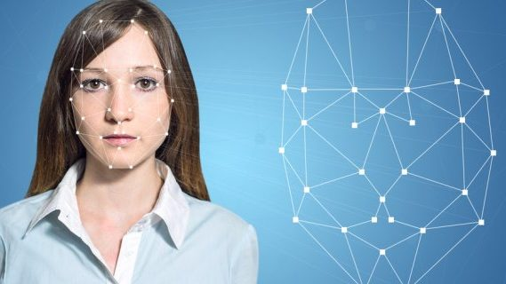 Facial recognition on a female