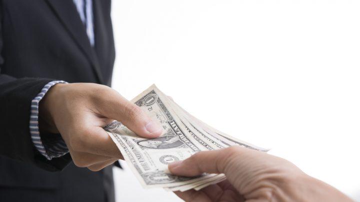 Giving USD money