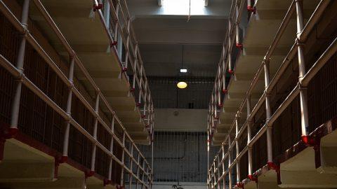 Prison cells indoors