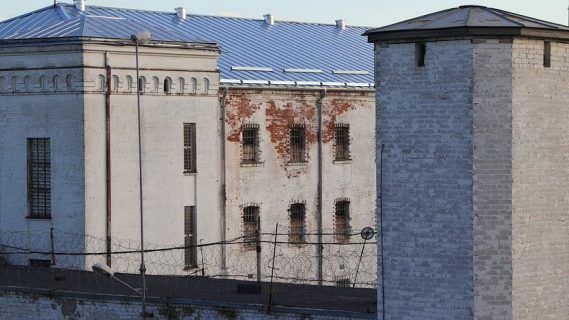 Prison tower building