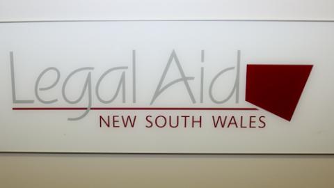 Legal Aid sign