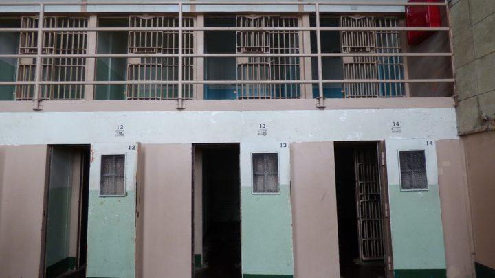 Three prison cells