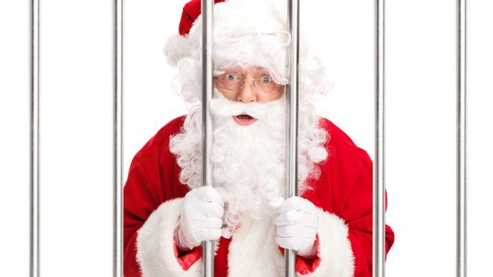 Santa in prison