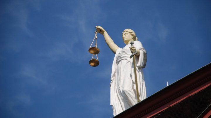 Justice statue