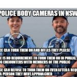 Police Body Cameras in NSW: What Does the Law Say?