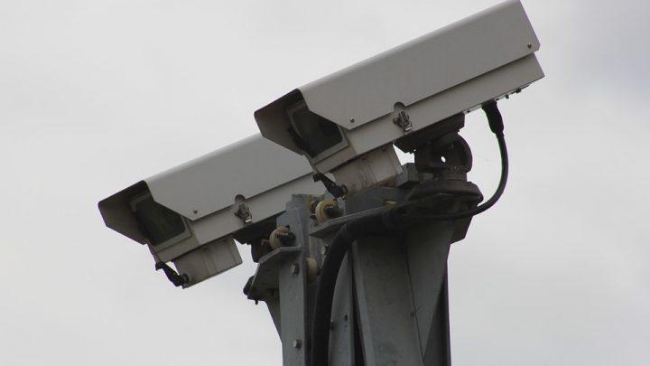 CCTV security footage