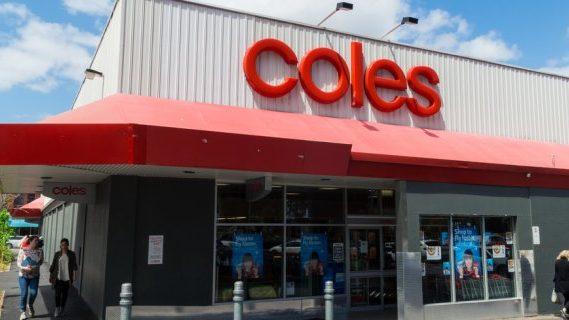 Coles shop