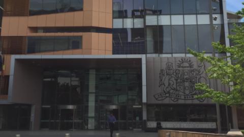 Parramatta District Court exterior