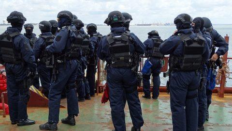 Police team