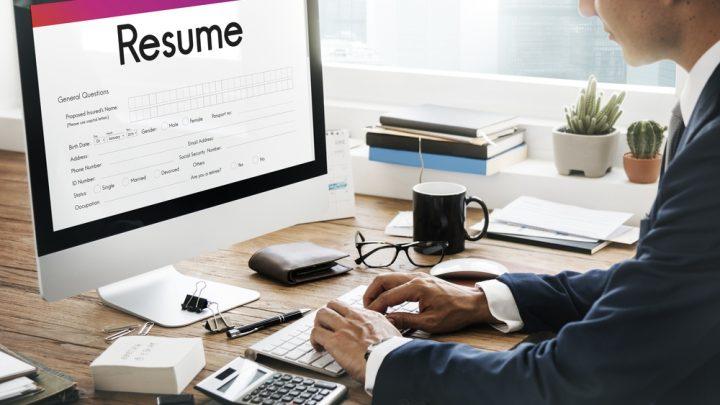 Resume on computer