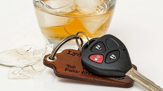 Drink driving and car keys