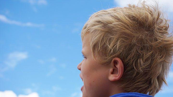 Blonde boy
