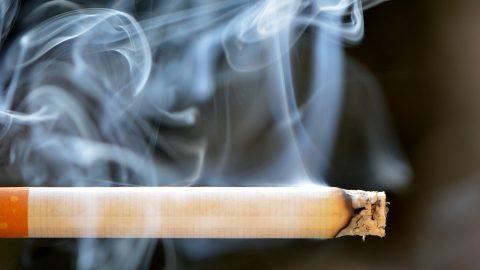 Cigarettes and smoke