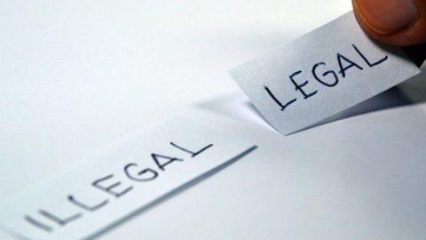Illegal vs legal