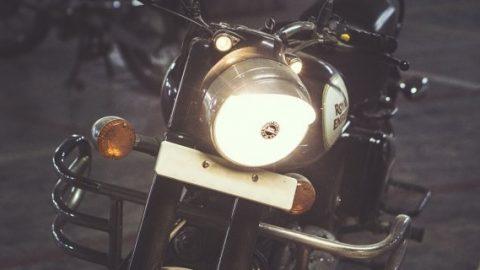 Light from a bike