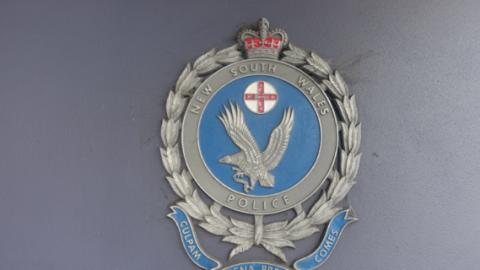 NSW Police stone